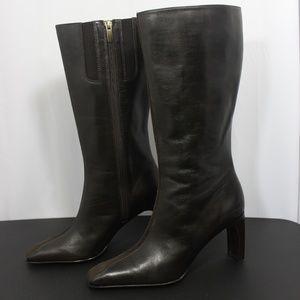 Anne Klein Parisian Leather Boots 7 M